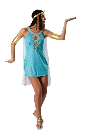Ancient Egyptian woman - Cleopatra Stock Photo - 12624511