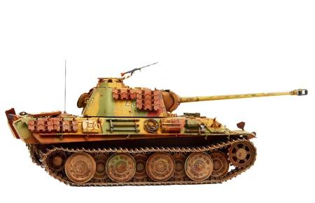 batallón: Pantera tanque de Foto de archivo