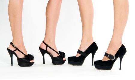 Four female foot Stock Photo - 12689007
