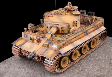 tiger historic german ww 2 tank replica photo