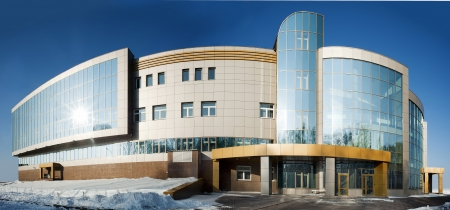 health care facility: radiological center for oncological patients in Tyumen, Russia