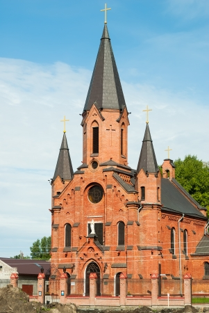 blessed trinity: Catholic Church of the Blessed Trinity In Tobolsk, Russia