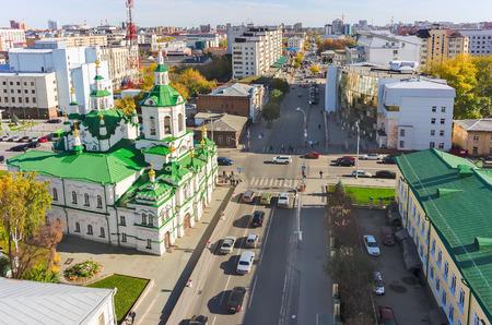 spassky: Church of Saviour, Lenina and Chelyuskincev streets intersection, Tyumen state university