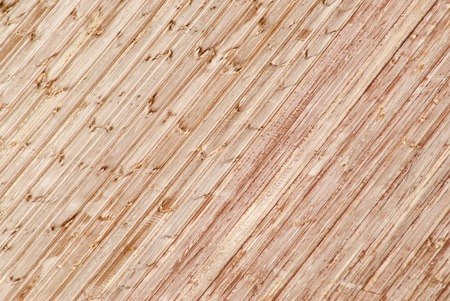 lining: New wooden covering of a wall from lining Stock Photo