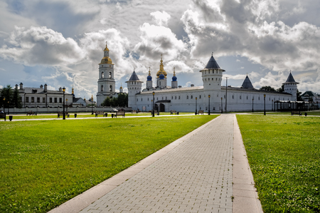 Kremlin complex. Guest Yard Stock Photo