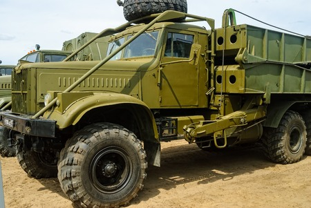 Truck with mechanized bridge TMM-3
