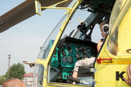 Tyumen, Russia - August 11, 2012: Air show