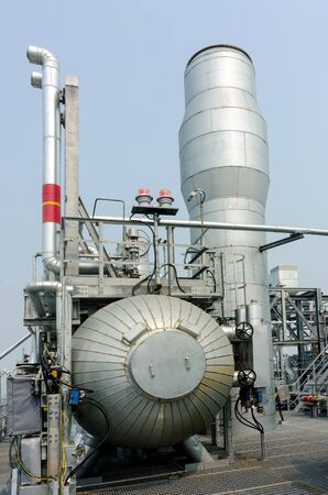 Plant on processing of hydrocarbonic raw materials