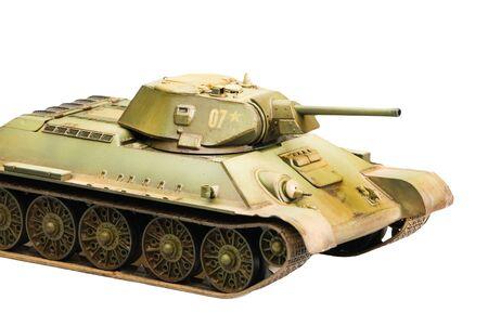 Legendary Soviet tank T-34 at war in second world war