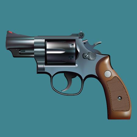 Revolver Ilustrace