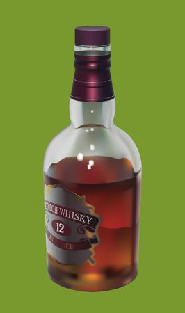 Whisky Illustration