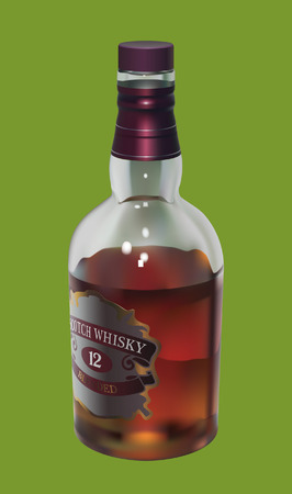 Whisky Ilustrace