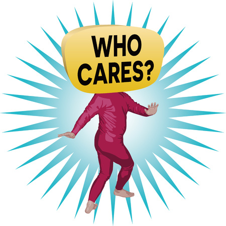 Who Cares? Man Ilustrace
