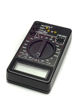 Un voltímetro electrónico  Foto de archivo - 244832