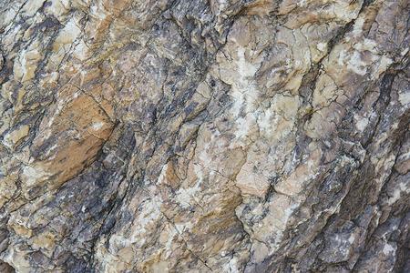 Brown Granit Felsen Hintergrund Textur close up Standard-Bild