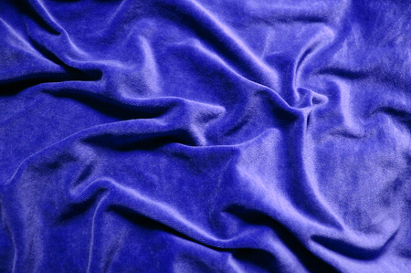 blue background: Blue velvet background