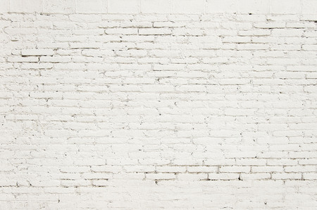 Old brick wall with white paint background texture close up 版權商用圖片