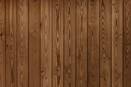 Cerca de textura de fondo de valla de madera marrón antiguo