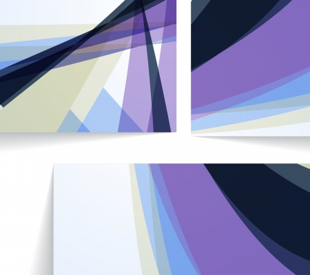 Abstract illustration, colorful composition Stock Vector - 17943868
