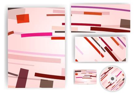 stationery set: Stationery set for your design
