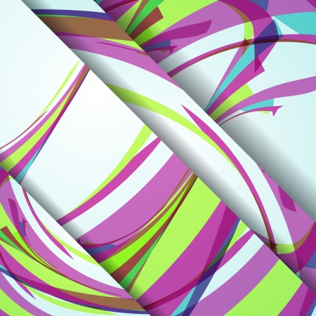 Abstract banner for your design Illustration