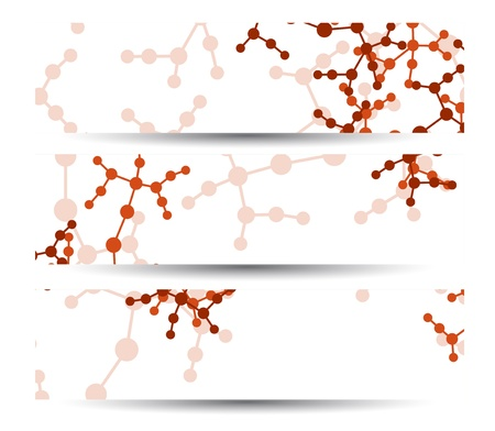 Dna banner for your design Stock Vector - 18396244