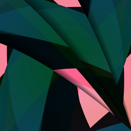 Abstract dark shape illustration, colorful design concept.