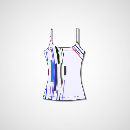 Abstract illustration on singlet  Vector