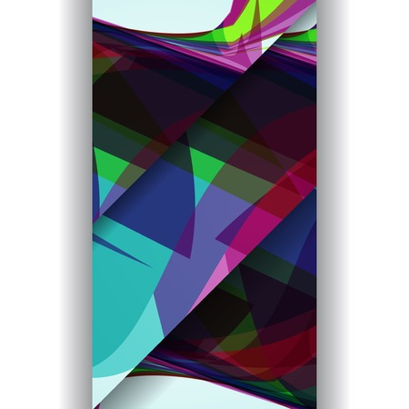 Abstract illustration, colorful digital composition.