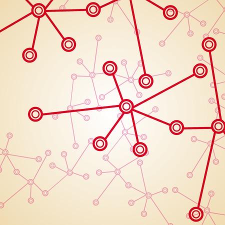 deoxyribonucleic: Molecule background, colorful illustration, digital composition. Illustration