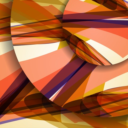 Abstract pattern of lines, colorful digital illustration.