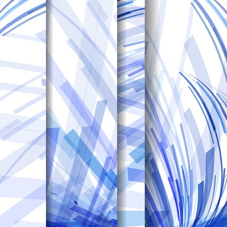 Abstract pattern of lines Vector