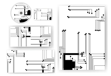 Stationery set for your design