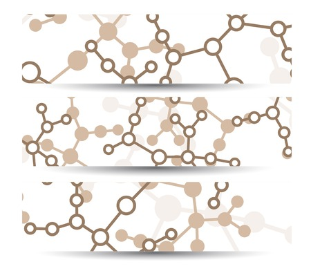 Dna banner for your design Stock Vector - 30433710