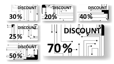 main idea: Circuit board discount cards