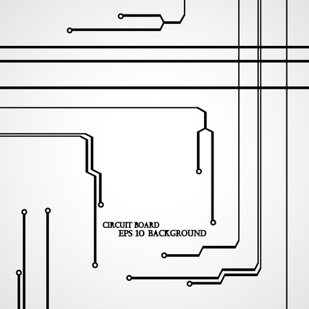 Circuit board background modern digital Illustration.