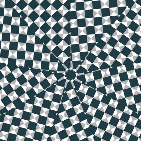 arte optico: Arte �ptico din�mico - composici�n digital.
