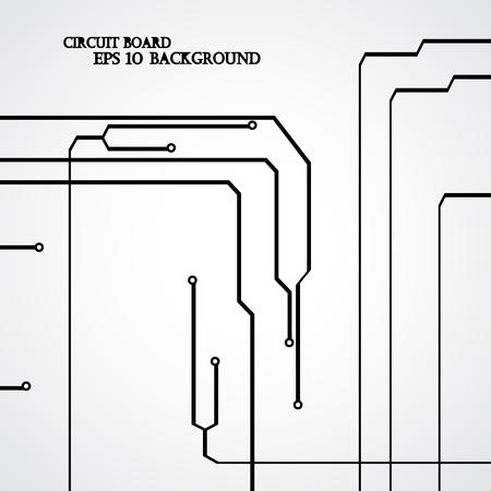 electronical: Circuit board background modern digital Illustration.
