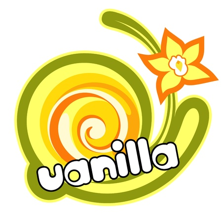 yogurt ice cream: Vanilla dessert.