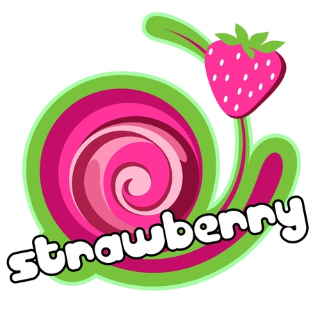 Strawberry dessert.