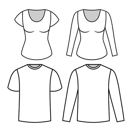 woman white shirt: T-shirt templates