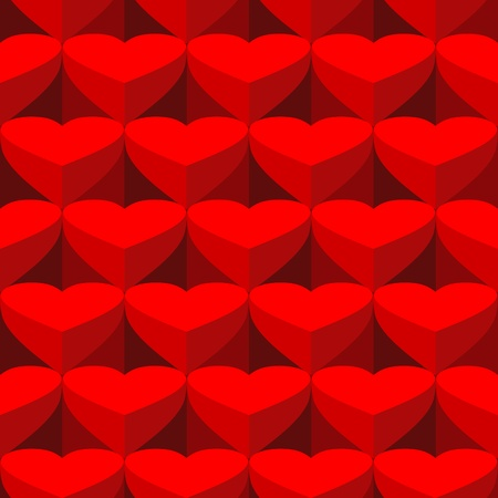 packing tape: Vector valentine background. Seamless wallpaper background.  Illustration