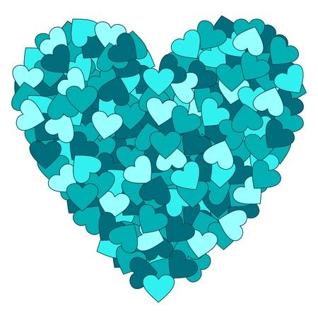 Vector heart. Valentine Vector