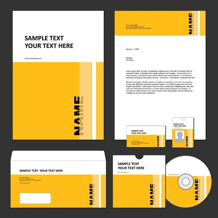 contents: Business template