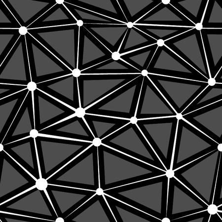 Geometrische naadloze textuur Abstract vector achtergrond