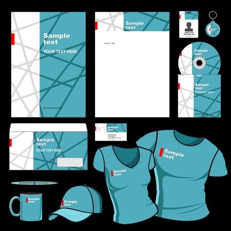 corporative: Business style templates for your project design, Illustration