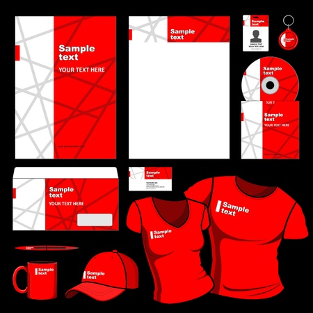 corporative: Template for Business artworks