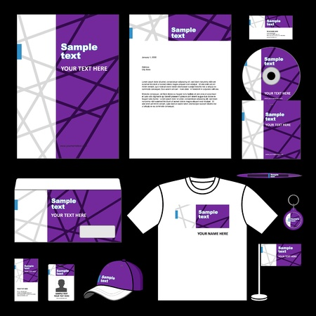 Template for Business artworks 일러스트