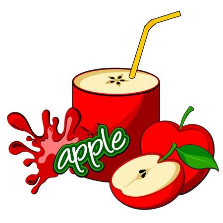 soda splash: Apple juice