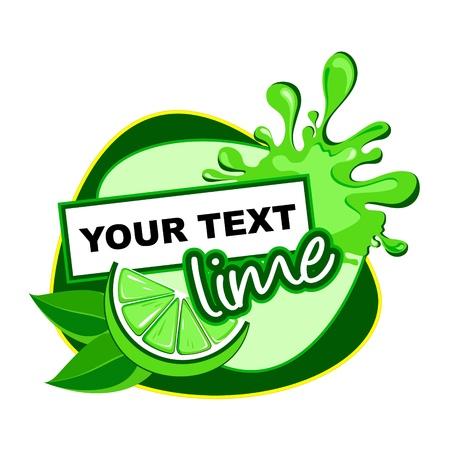 milky: Lime  Illustration
